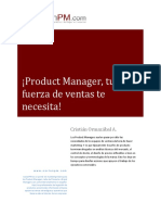 Product Manager Fuerza de Ventas