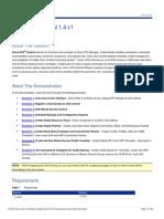 Cisco UCS Central 1-4 v1 Demo Guide