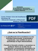 1. Planificación de Unidad Pedagógica