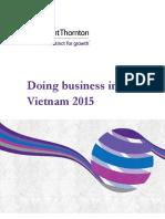 Doing Business in Vietnam 2015