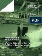 Tesoros Ocultos de La Cocina Del Alto Ricaurte y Villa de Leyva