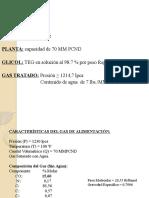 Tema 2 Deshidratacion Del Gas Natural Pet 216 2 Ejercicio