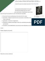 RUTINA DE CALISTENIA PARA PRINCIPIANTES NIVEL 0 | Alternalego