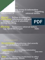 Facilitating Human Learning Report