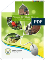 ICT for Agriculture policy and Strategic Plan 2016 - 2020 Rwanda