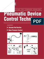 Pneumatic devices control tech