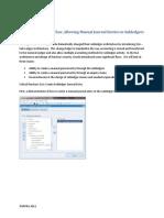 SLA Process Design Flow Allowing Manual Journal Entries