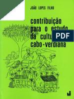 LOPES Filho Joao - Contribuicao Estudo Cultura Cabo Verdiana