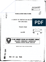 A survey of penetration mechanics for long rods.pdf