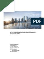 Cisco ePDG admin