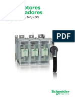 Catálogo Interruptores Seccionadores Schneider