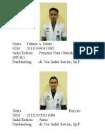Biodata Untuk Paru