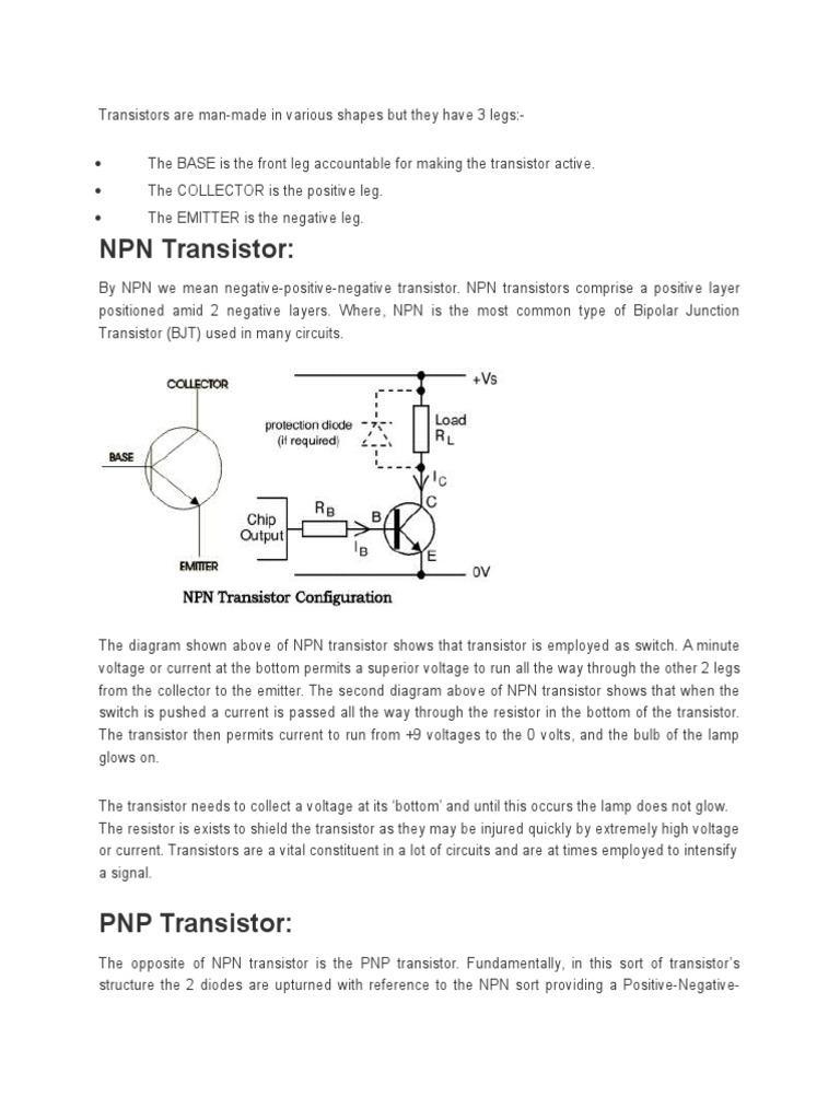 All About Transistors Bipolar Junction Transistor Kinds Of Are I Npn Ii Pnp