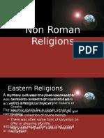 Non Roman Religions
