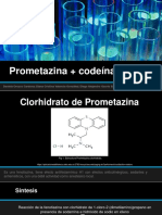 Presentación Seminario I Prometazina+Codeina