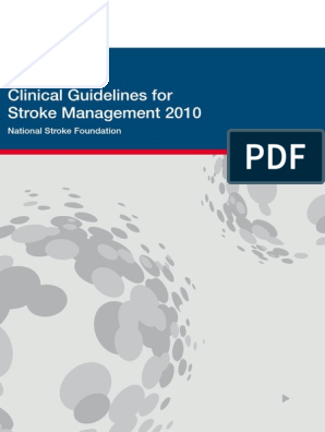 Clinical Guidelines Acute Rehab Management 2010 Interactive