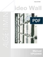 Videowall VPU3400 BE