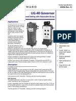 UG 40 Governor
