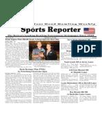 September 14 - 20, 2016  Sports Reporter