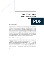 Expectation Maximization Theory