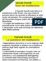 Riassunto Hannah Arendt