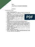 ANTONIO GRAMSCI - Maquiavel, A Política e o Estado Moderno