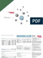 Le Journal Rates Retail 2014