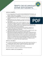 Reglamento de BE