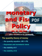 Topic5.1-Monetary and Fiscal Policy -Keynes-Classical