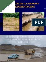 Control de La Erosion y Sedimentacion