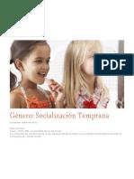 Genero Socializacion Temprana II