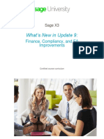 X3 WhatsNew U9 FinanceCompliancy NFR