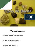 Descripcion de los Tipos de Rocas
