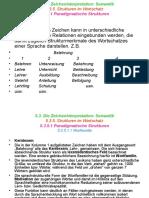 18. Die Semantik. Strukturen Im Wortschatz. Komponentenanalyse