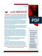 GHR Dispatch Vol 1
