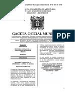 Ordenanza Taurina de Mérida