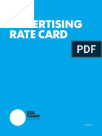 Usa Today Rate Card