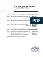 ASME codes & Standards committee working procedures