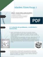 Habilidades Directivas I Unidad 5