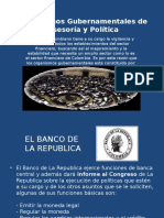 Organismos Gubernamentales de Asesoría y Política
