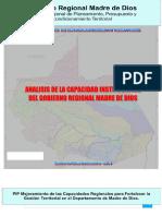 Estudio de Analisis de Capacidad Institucional_mdd
