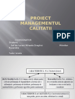 Management Calitate