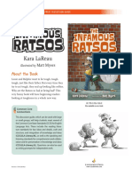 The Infamous Ratsos Discussion Guide