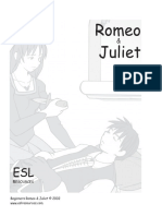 Romeo and Juliet Sample Pages