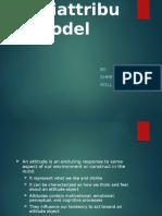 Ajzen & Fishbein's Multiattribute Model