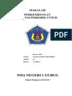 PERKEMBANGAN SISTEM PERIODIK UNSUR.doc