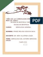semiologia del sistema nerviosos