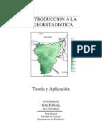 Introduccion a La Geoestadistica_Universidad Nacional de Colombia