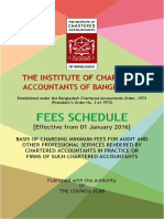 ICAB Fees Schedule 2016