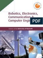 Robotics Electronics Communication and Computer Engineering
